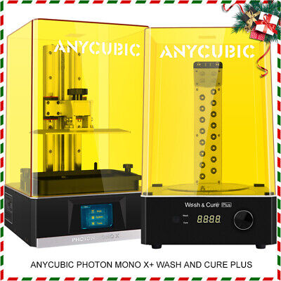 US STOCK ANYCUBIC Photon LCD UV Resin 3D Printer Fully Assembled 2K HD 2.8'' TFT