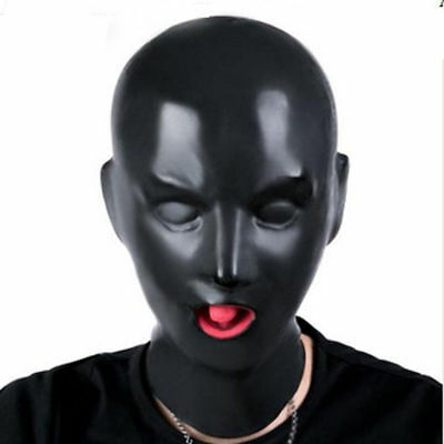 087 Latex Mask with Red Teetch Nasal Tube (Fit 54-57cm)
