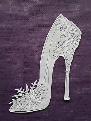 Shoes High Heel Paper Die Cuts x 8 Scrapbooking Card Topper Embellishment
