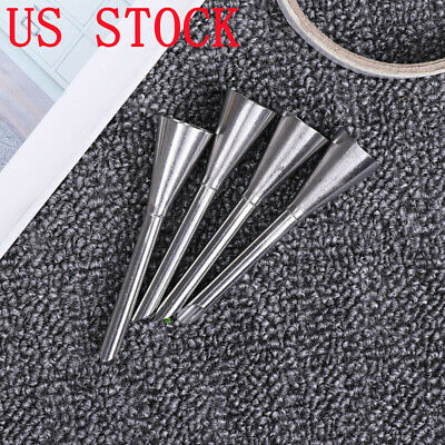 DIY 4Pcs Icing Piping Nozzles Injector Cake Sugarcraft Tips Baking Tool Pastry
