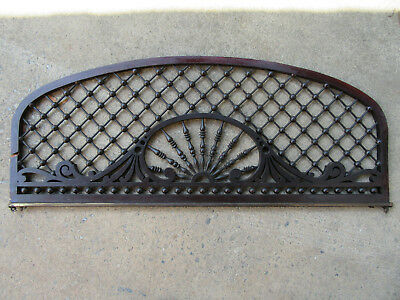~ Beautiful Antique Stick And Ball Fretwork ~ 47 X 18 ~ Architectural Salvage