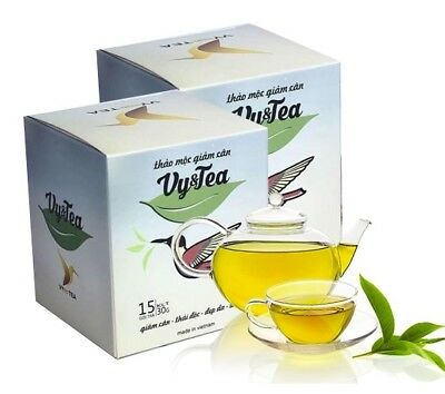 2X Vy&Tea Natural Herbal Tea Help Weight Loss,Sleep Deep And Purifying The Body