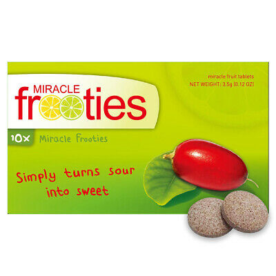 Miracle Frooties Classic Miracle Berry Tablets - FREE shipping