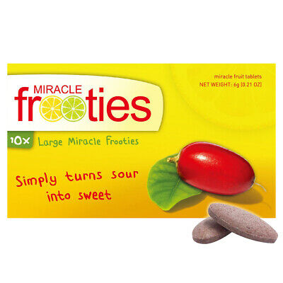 Miracle Fruit Tablets Miracle Frooties Large XL - Double Strength & Last Longer!