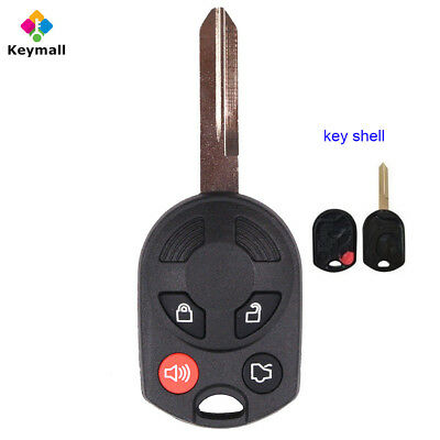 For Ford Edge Escape Focus Mustang Car 4 Buttons Key Shell Case