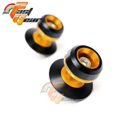 Twall Protector Gold Swingarm Spools Sliders Fit Suzuki GSX650F 2008-2018