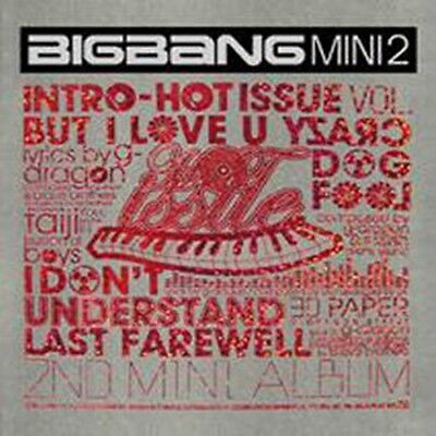 K-POP BIGBANG 2nd Mini Album [Hot Issue] CD + Photobook Sealed