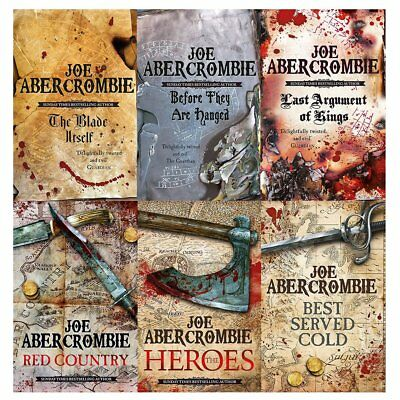 Best Served The Heroes Joe 6 books collection set abercrombie first law series