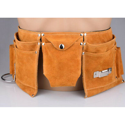 51cm Multi-pocket Tool Bag with Waist Belt Hanging Pouch Joiner Nail Apron