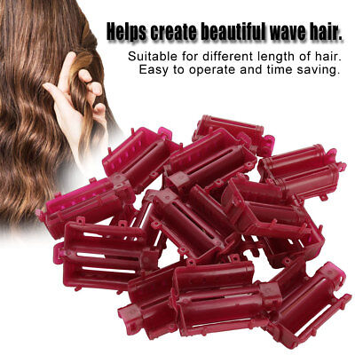 30pc Professional Hair Root Wave Clips Perm Rod Curler Roller Hair Styling Tools