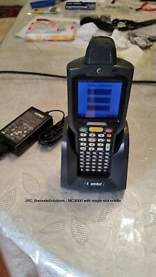 Zebra/Motorola/Symbol MC3000 Handheld Computer, Cradle and Accessories