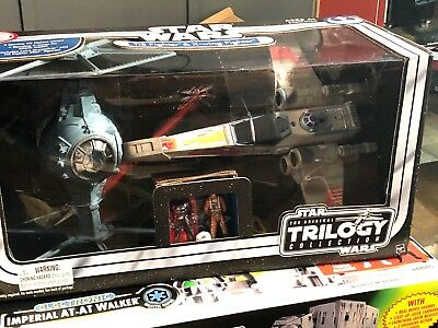 Star Wars Tie Fighter And X Wing Otc Hasbro Mint In Box