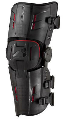 EVS RS8 Knee Brace black S (Pair) Knieorthese schwarz Motocross MX UVP 399,-€
