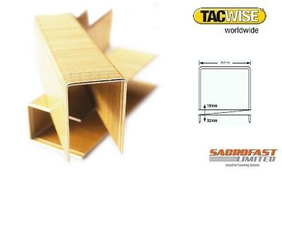 17 Series Wide Crown Staples By Tacwise