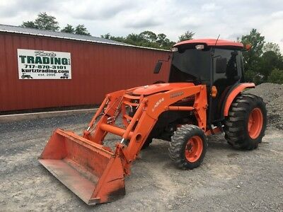 2012 Kubota L5240 4x4 Hydro Compact Tractor w/ Cab & Loader!