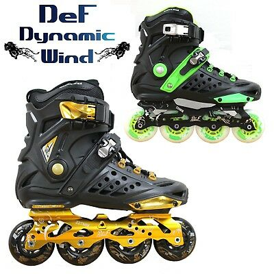 New Kingdom GB™ DLF Unisex Slalom Freestyle Speed Fitness Inline Roller Skates