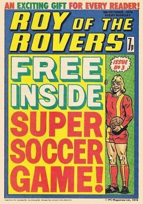 Uk Comics Roy Of The Rovers Collection On Dvd 500+ Issues From 1976-85