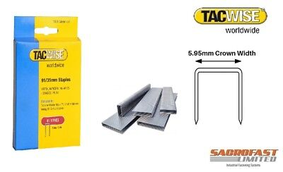 91 Series Staples By Tacwise (2 Boxes Of 1,000)