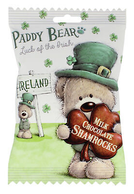 Paddy Bear Milk Chocolate Shamrocks 110g