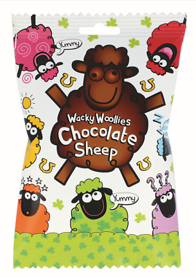 Wacky Woollies Chocolate Sheep 110g