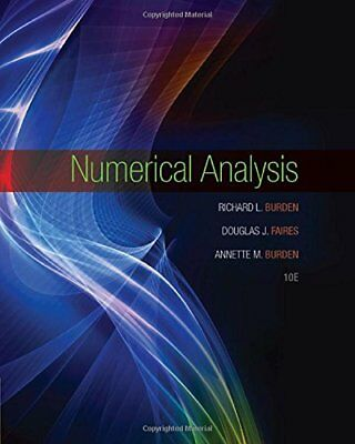 [PDF] Numerical Analysis 10th Edition by Richard L. Burden - Email Delivery