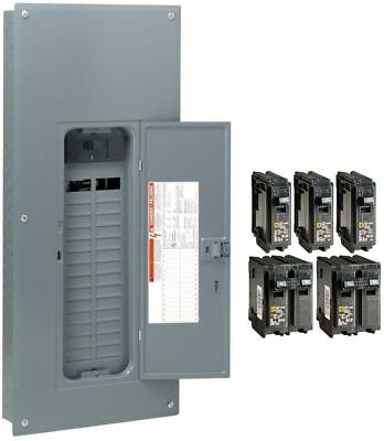 Square D 200 Amp 30 Space 60 Circuit Electrical Panel Main Load Center Breaker