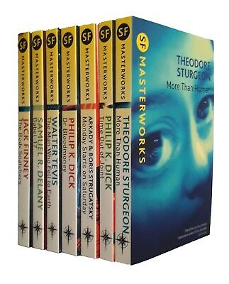 SF Masterworks 7 Book Collection Finney Dick Tevis Classic Science Fiction New