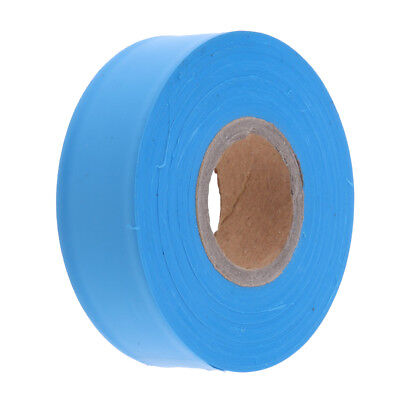 Flagging Tape for Boundaries and Hazardous Areas - Non-Adhesive Tape Blue