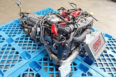 04 05 JDM Subaru Impreza STI V8 EJ207 Engine 2.0L Twin Scroll Turbo ECU Harness