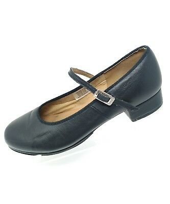 Bloch Womens Mary Jane Techno Tap Shoes Sz 9 Black Leather  #1T #2H