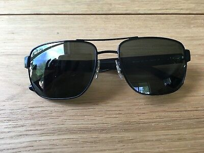 e090bc5ed9 RAY-BAN RB3530 002 9A 58mm Black Frame Polar Green Lens Polarized ...