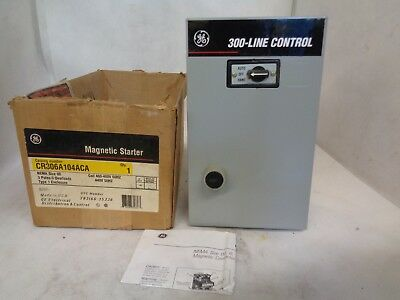 General Electric Magnetic Starter Cr306A  104Aca