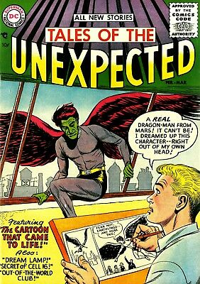 Tales Of The Unexpected Silver/bronze Age Horror & Mystery Comics Dvd Collection