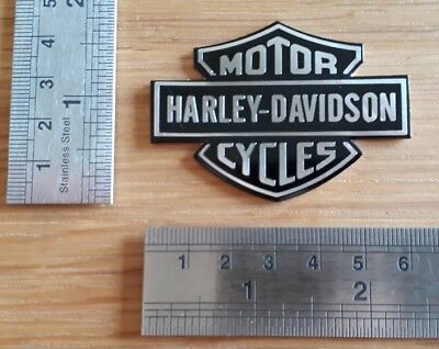 Harley Davidson 3D Metal Badge Sticker Graphic Decal Motorbike Wings Logo