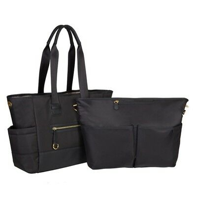 New Skip Hop Chelsea 2-in-1 Downtown Chic Diaper Tote - Free Express Shipping!