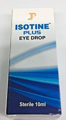 Isotine Plus Eye Drop 10ml Ayurvedic Eye care - US Seller!