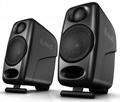 IK Multimedia iLoud Ultra Compact Studio Monitors w/bluetooth and DSP (Pair)