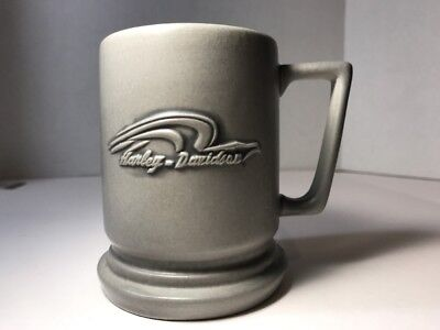 Harley Davidson Grey Stone Wear Style Mug Official Licensed Product