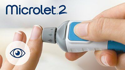 Bayer Microlet 2 Adjustable Lancing Device Only