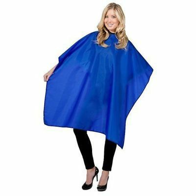 Blue Shampoo Cape Barber Hairdressing Gown Dye Styling Salon Hair Cloth Cutting