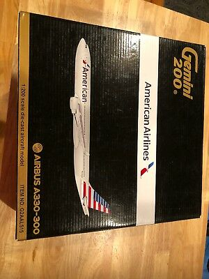 American Airlines Airbus A330-300 N270AY Gemini Jets G2AAL515 Scale 1:200