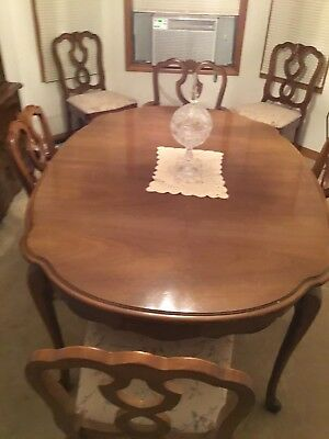 french provincial furniture Dining Room Set Circa 1960