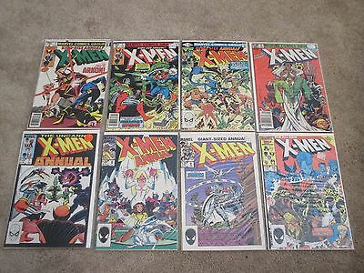 Marvel comics Uncanny X-Men annual lot x16 3 4 5 6 7 8 9 10 11 12 13 14 15 FN-VF