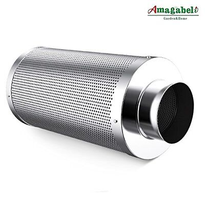 Amagabeli 4 inch Carbon Filter Odor Control for Hydroponics Indoor Plants Grow