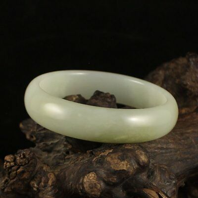 Inside Diameter 58 mm Chinese Hetian Jade Bracelet
