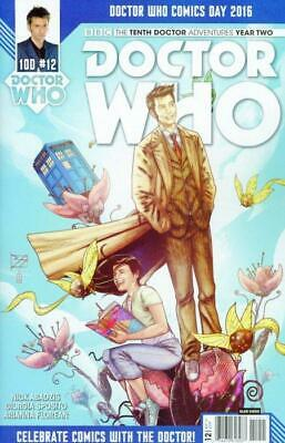 Doctor Who: 10th Doctor - Year Two #12 Comics Day 2016 Cover