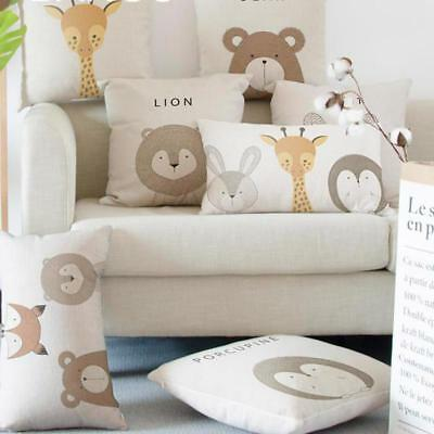 Adorable Rabbit Cushion Pet Cartoon Animal Decorative Throw Pillows Supplies