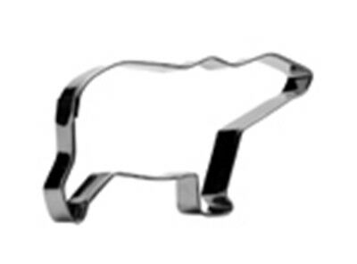Cookie/Biscuit cutter Polar Bear s/s 11 cm&1.5cm Deep Guaranteed Quality