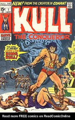 Us Comics Kull The Conqueror Sword & Sorcery Collection On Dvd