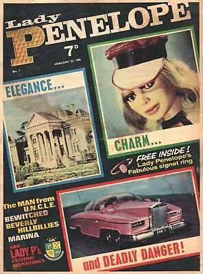 Uk Comics Lady Penelope Collection On Dvd